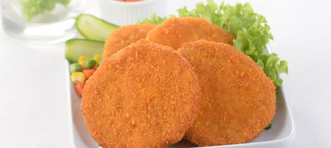 00002 Breaded Chicken Patties