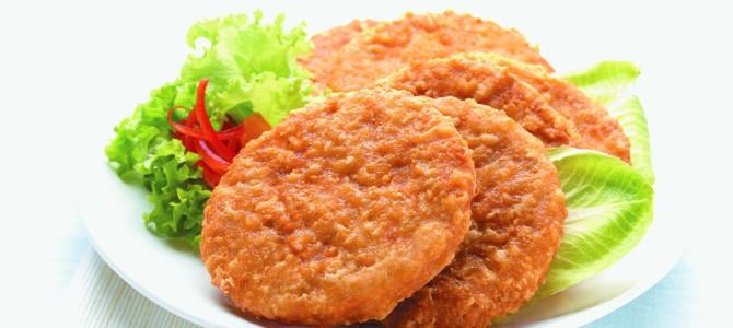 00169 Spicy Chicken Patties (breaded)