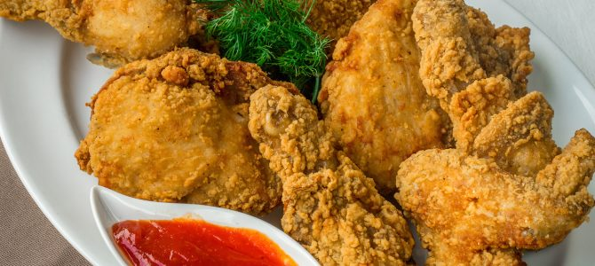 55025 Fully Cooked Crispy Golden Fried Chicken