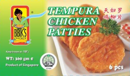 Tempura Chicken Patties