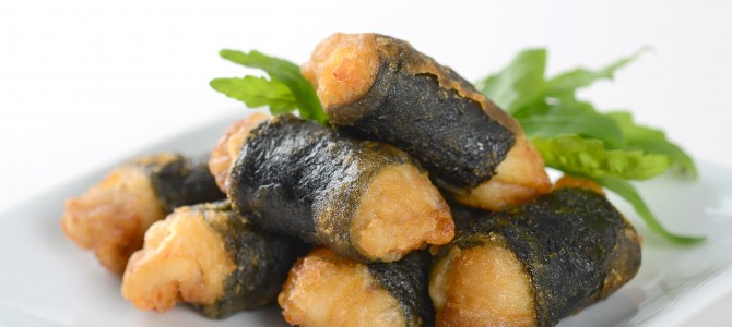 66502 Crispy Chicken With Seaweed