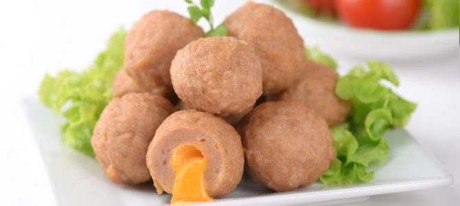 91253 Chicken Cheese Meat Ball